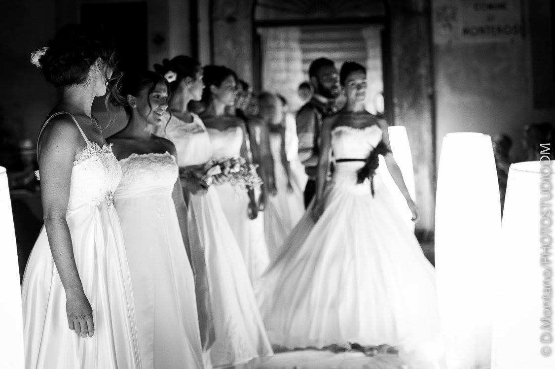 Foto sfilata Spose Monterosi